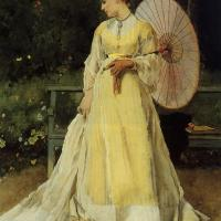 In the Country by Alfred Stevens