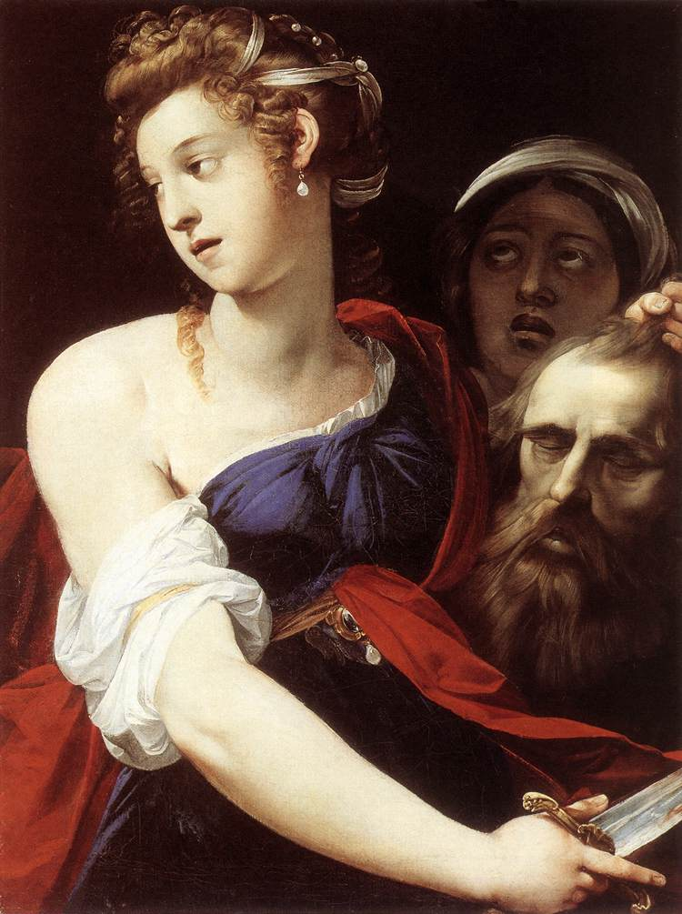 Judith with the Head of Holofernes by Giuseppe Cesari