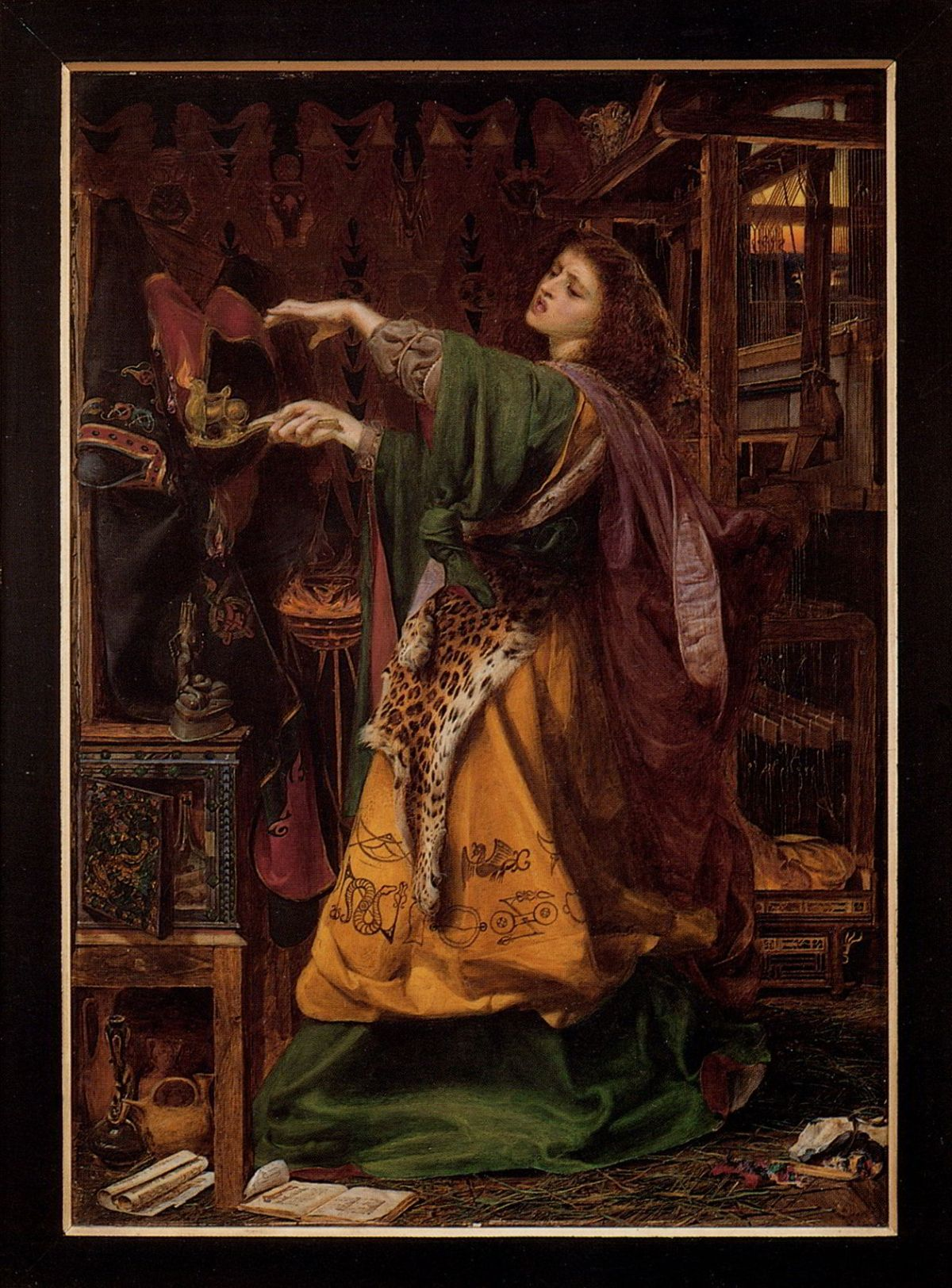 Morgan le Fay by Anthony Frederick Sandys