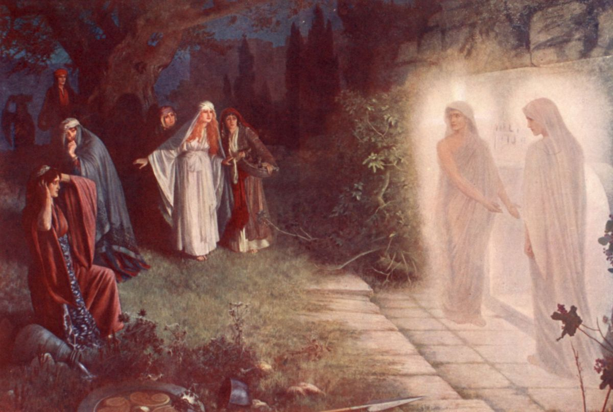 Resurrection ­ Morn by Herbert Gustave Schmalz