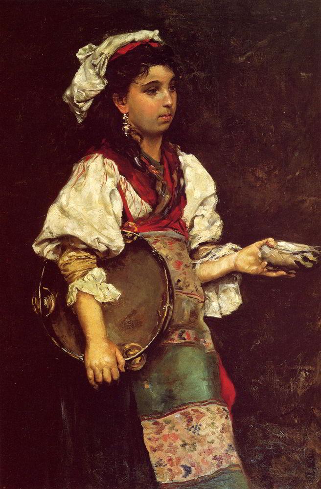 Spanish Girl by Julius LeBlanc Stewart