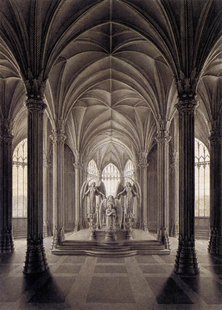Study for a Monument to Queen Louise by Karl Friedrich Schinkel