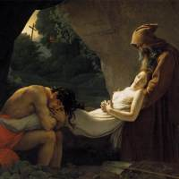 The Entombment of Atala by Anne Louis Girodet de Roucy Triosson