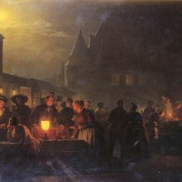 The Night Fair by Petrus Van Schendel