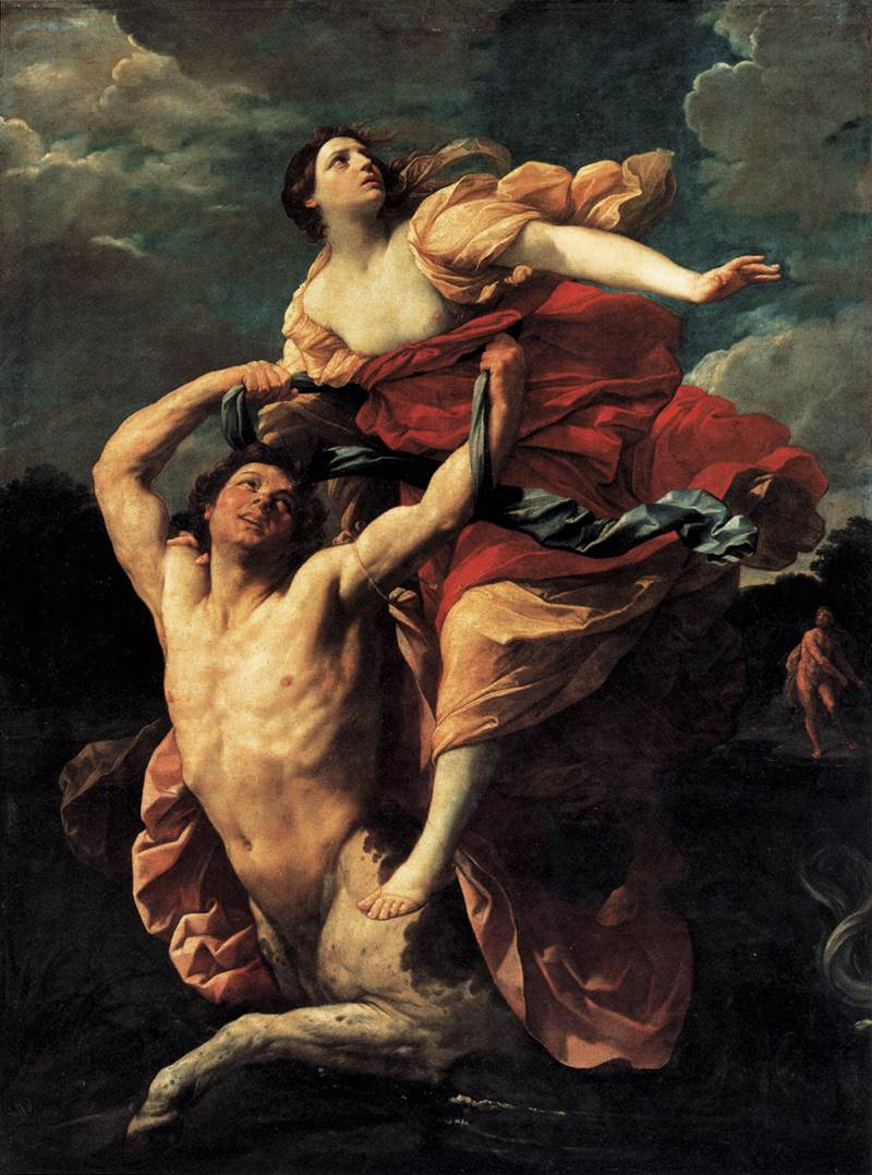 The Rape of Dejanira by Guido Reni