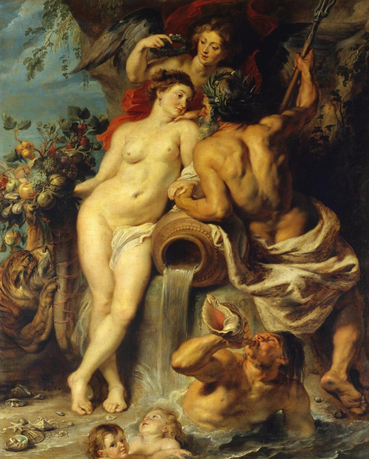 The Union of Earth and Water by Peter Paul Rubens