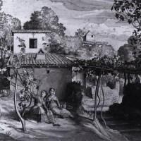 The View of the Archpriest in Olevano by Julius Schnorr von Carolsfeld