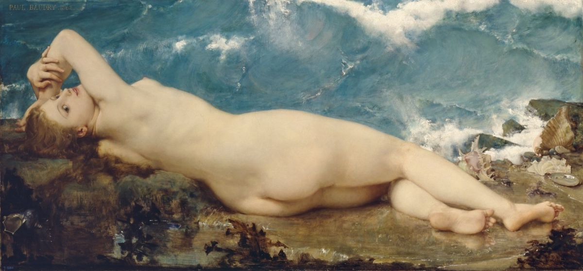 The Wave and the Pearl by Paul Jacques Aime Baudry