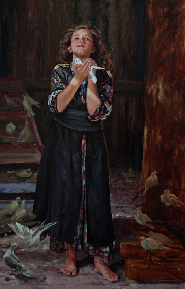 Noahs Daughterinlaw in the Dovecote by Mary Jane Q Cross