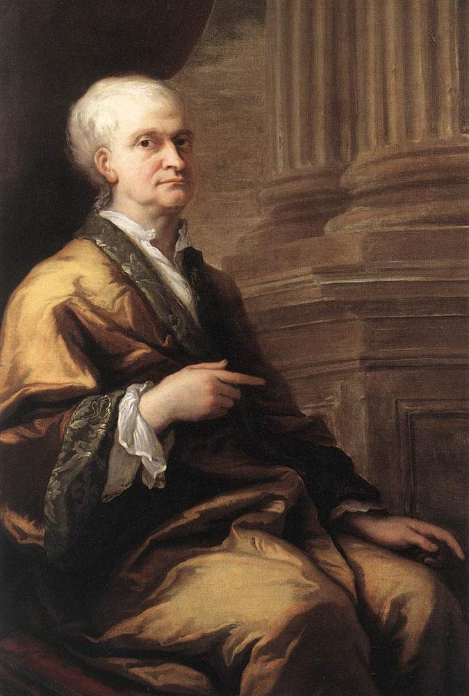 Sir Isaac Newton by Sir James Thornhill