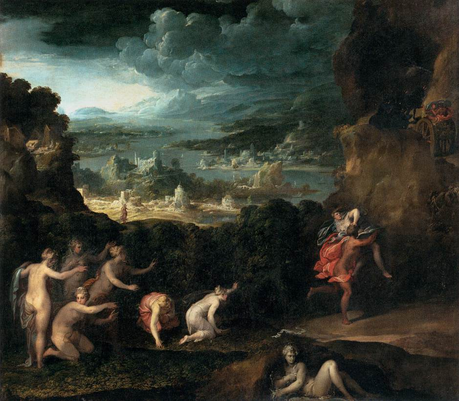 The Rape of Proserpine by Niccolo dell Abbate