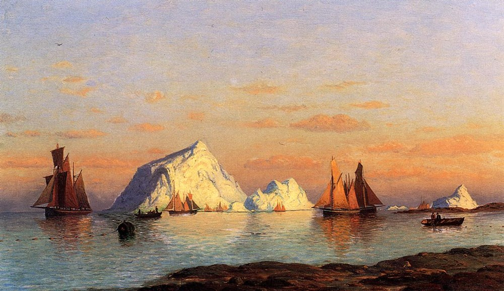 Fishermen off the Coast of Labrador by William Bradford