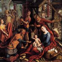 Triptych with the Adoration of the Magi by Pieter Aertsen