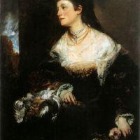 Adele Gräfin WaldsteinWartenberg by Hans Makart