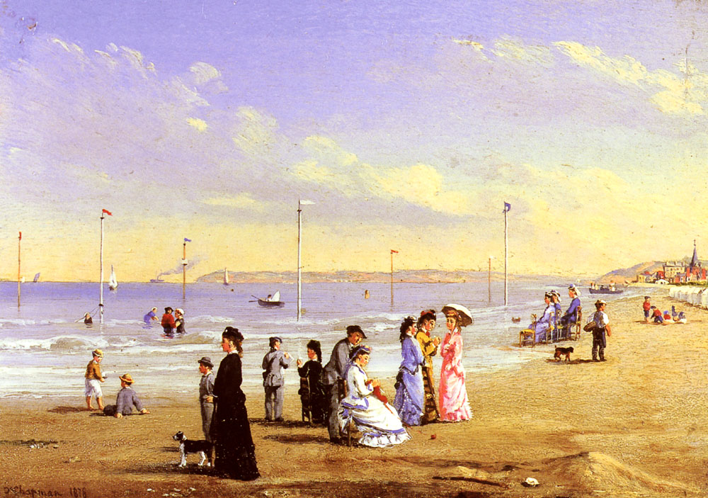 At The Seaside by Conrad-Wise Chapman