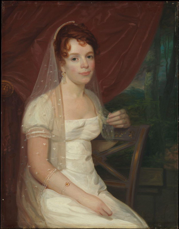 Mrs. Robert Dickey by John Wesley Jarvis
