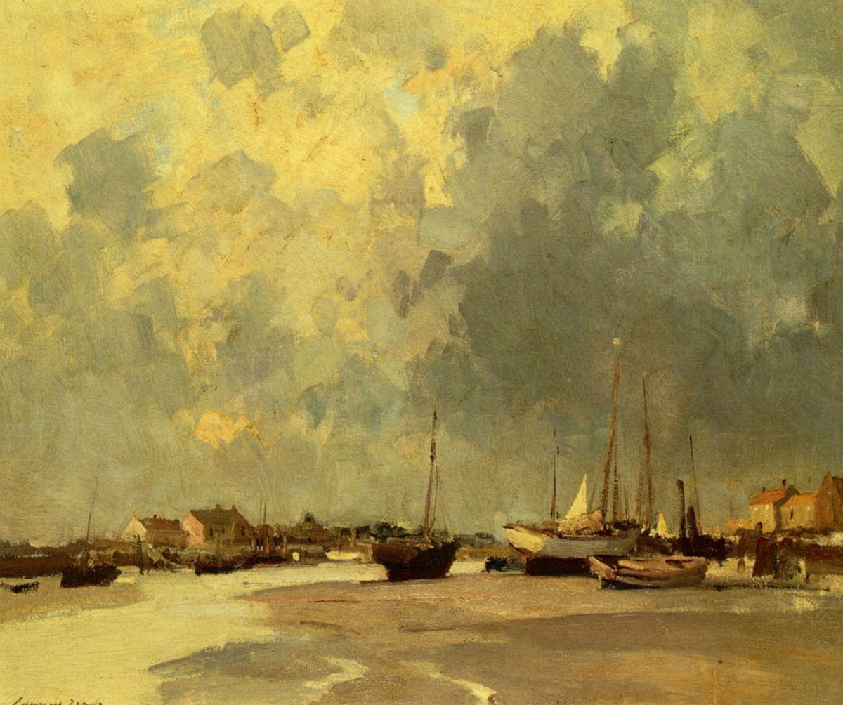 An Essex Creek by Edward Seago