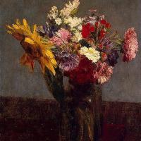 Bouquet of Flowers by Henri Fantin Latour
