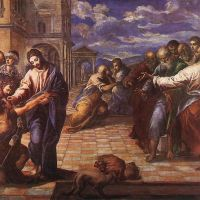 Christ Healing the Blind (2) by El Greco