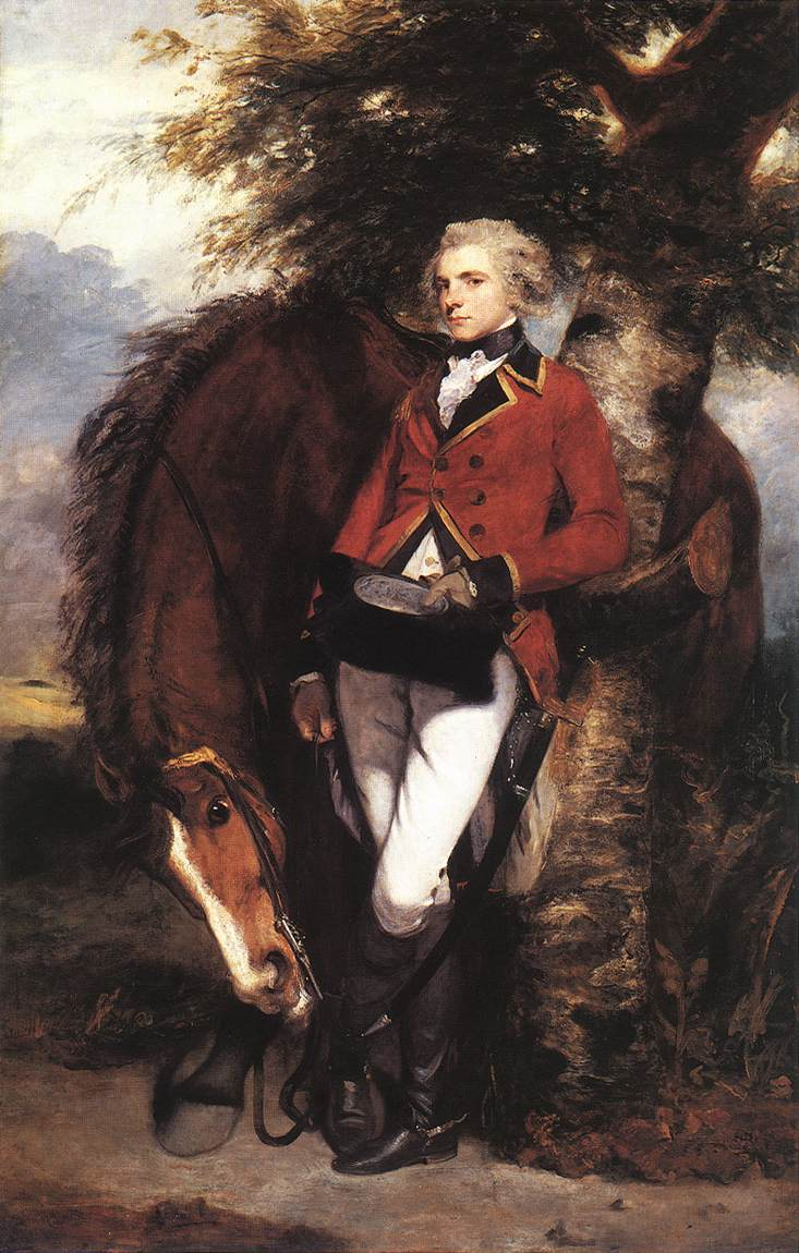 Colonel George K. H. Coussmaker, Grenadier Guards by Joshua Reynolds