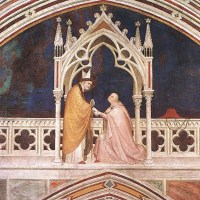 Consecration of the Chapel by Simone Martini