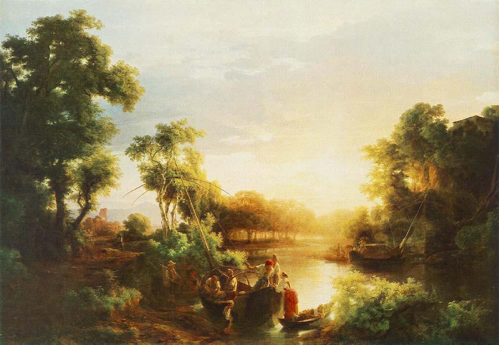 Fishermen by Karoly the Elder Marko