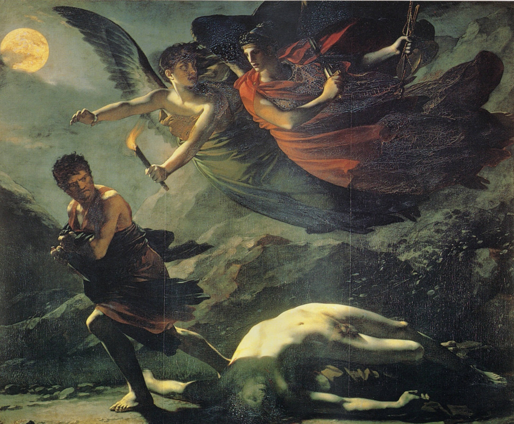 Justice and Divine Vengeance Pursuing Crime by Pierre Paul Prudhon