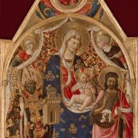 Madonna and Child with Saints by Antonio Da Firenze