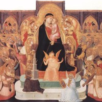 Madonna with Angels and Saints (Maestà) by Ambrogio Lorenzetti
