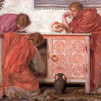 Pomegranates by Albert Joseph Moore