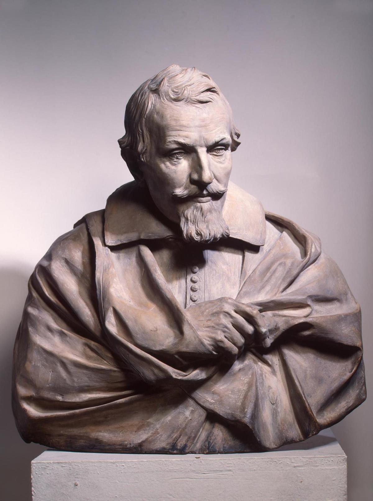 Portrait of Gaspare Mola by Alessandro Algardi