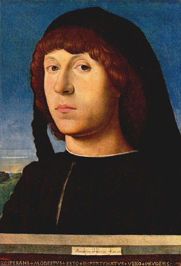 Portrait of a Man (1) by Antonello da Messina