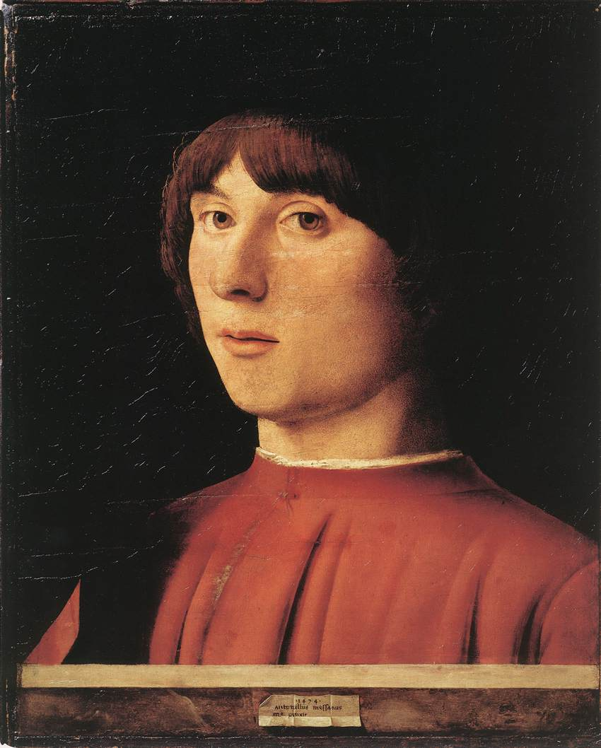Portrait of a Man (2) by Antonello da Messina