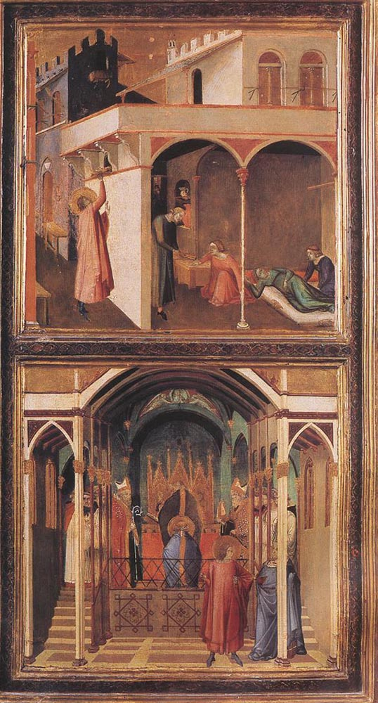 Scenes of the Life of St Nicholas by Ambrogio Lorenzetti