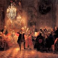The Flute Concert by Adolph von Menzel