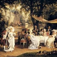 The Garden Party by Carl Schweninger, Jr.