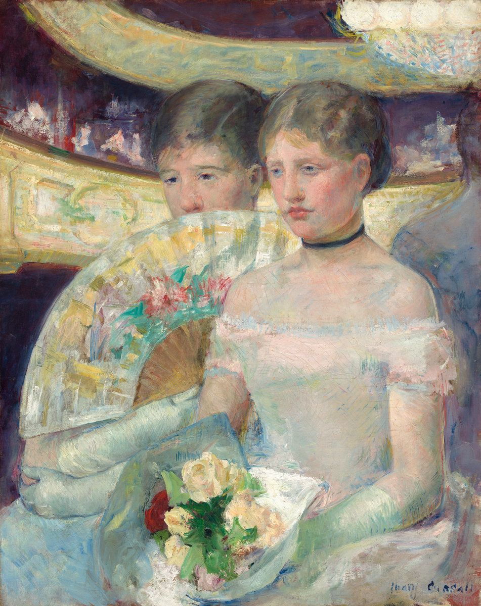 The Loge by Mary Cassatt