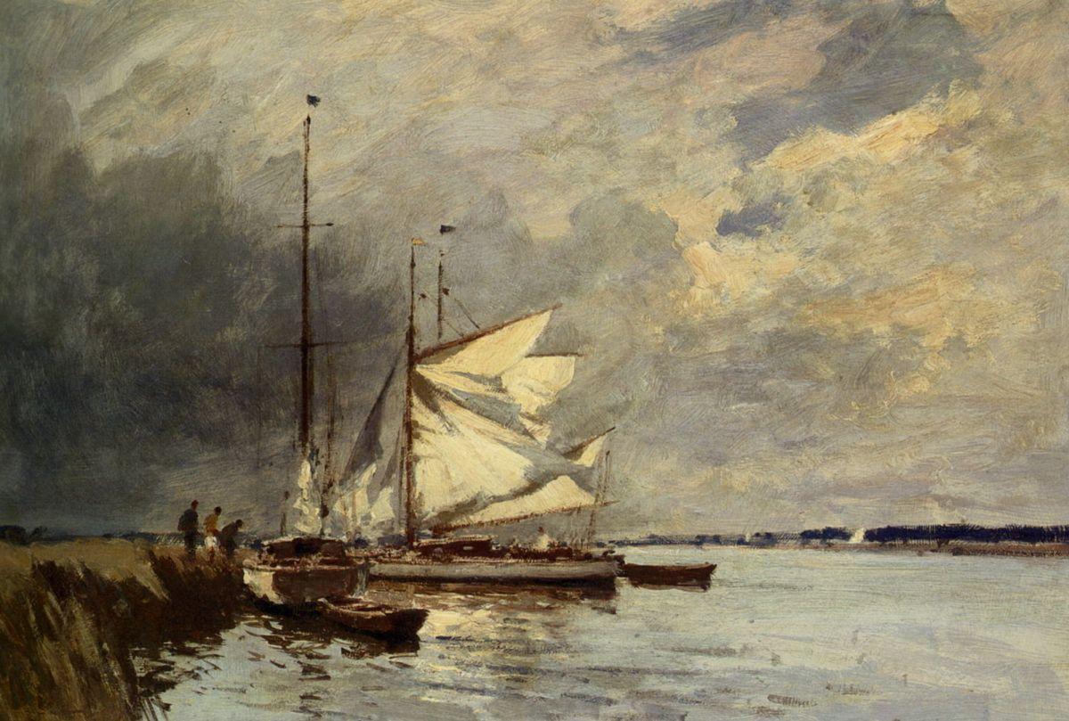 The Norfolk Broads by Edward Seago