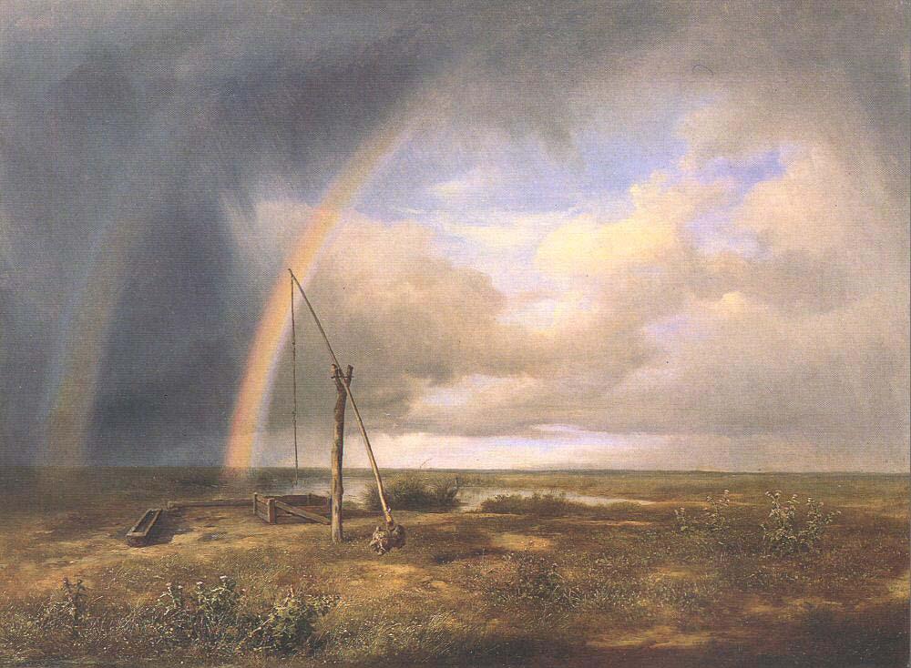 The Puszta by Karoly, the Elder Marko