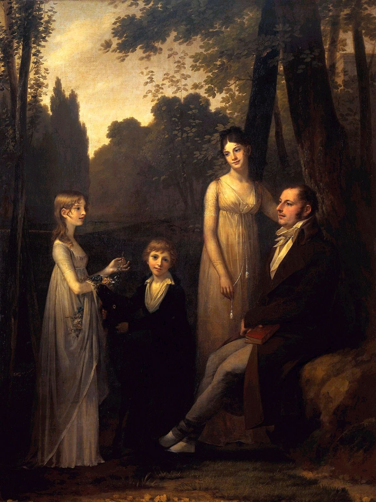 The Schimmelpenninck Family by Pierre Paul Prudhon