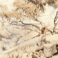 The Song Of The Lark by Arthur Rackham