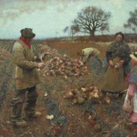 Winter Work by Sir George Clausen