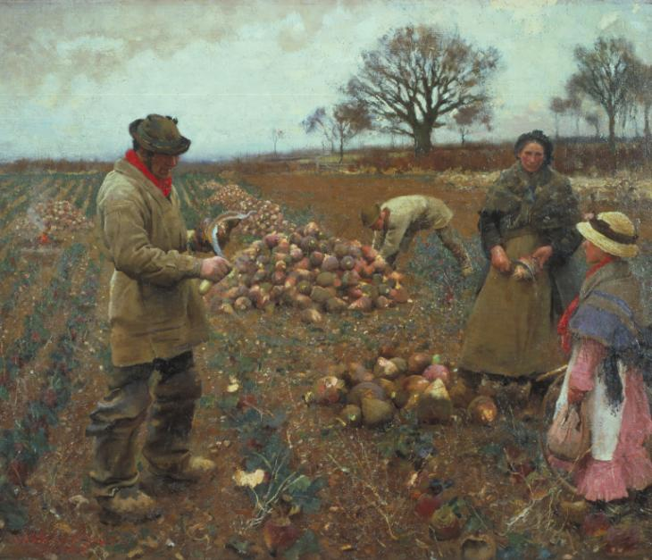 Winter Work by Sir George Clausen