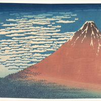 Fine Wind, Clear Morning (Gaifu Kaisei) by Katsushika Hokusai