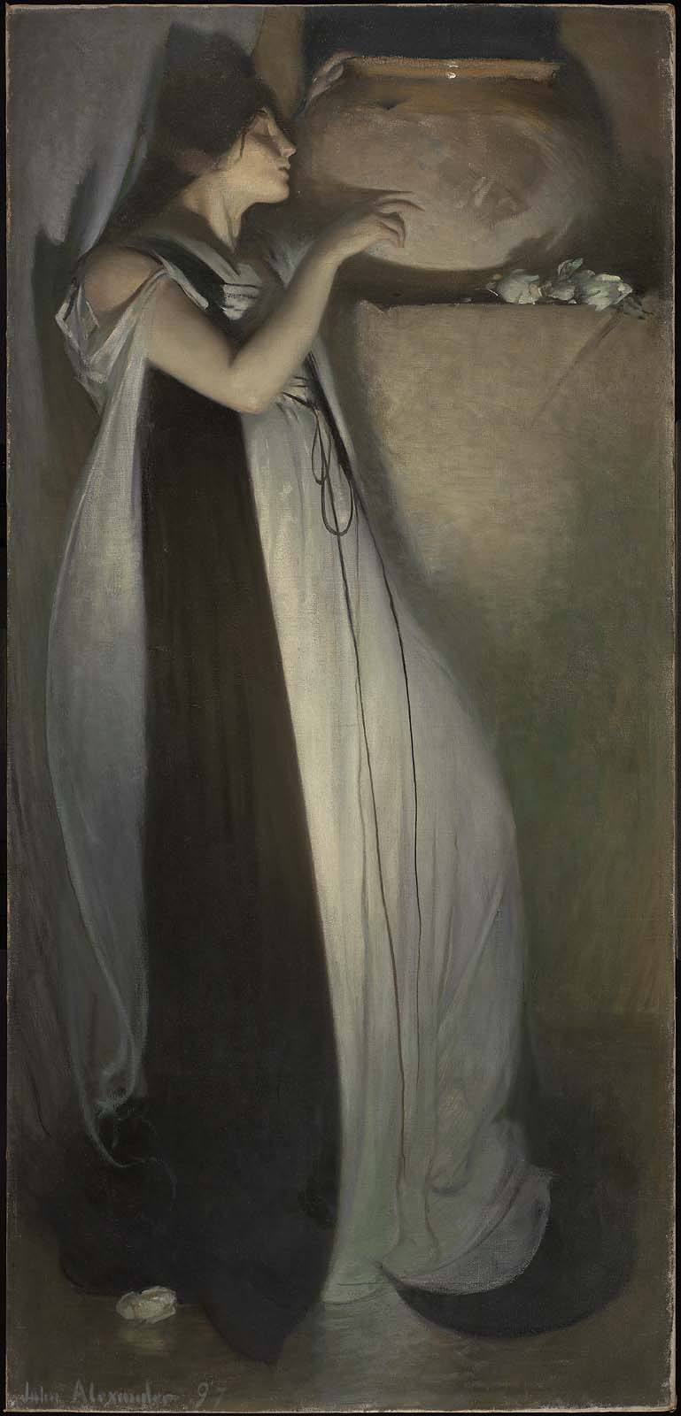 Isabella and the Pot of Basil by John White Alexander