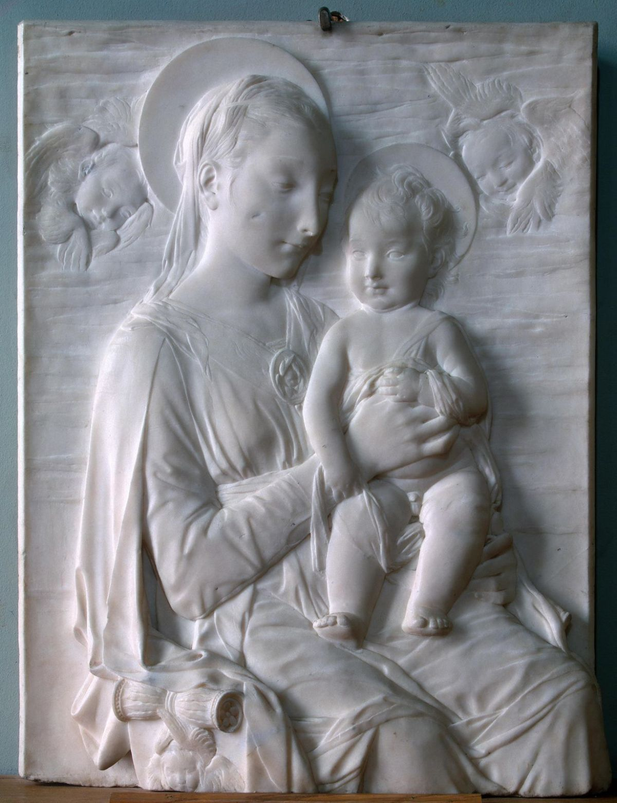 Madonna and Child by Antonio Rossellino