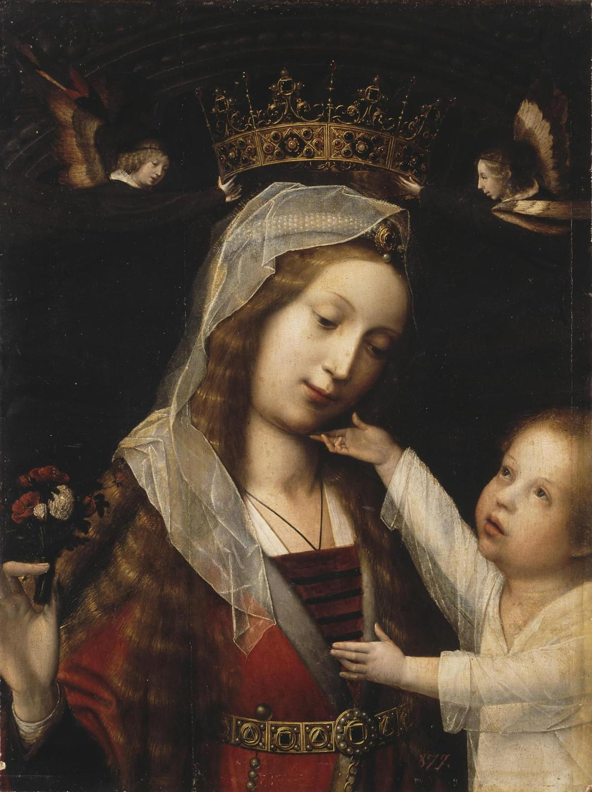 Madonna with the Child by Jan Provost