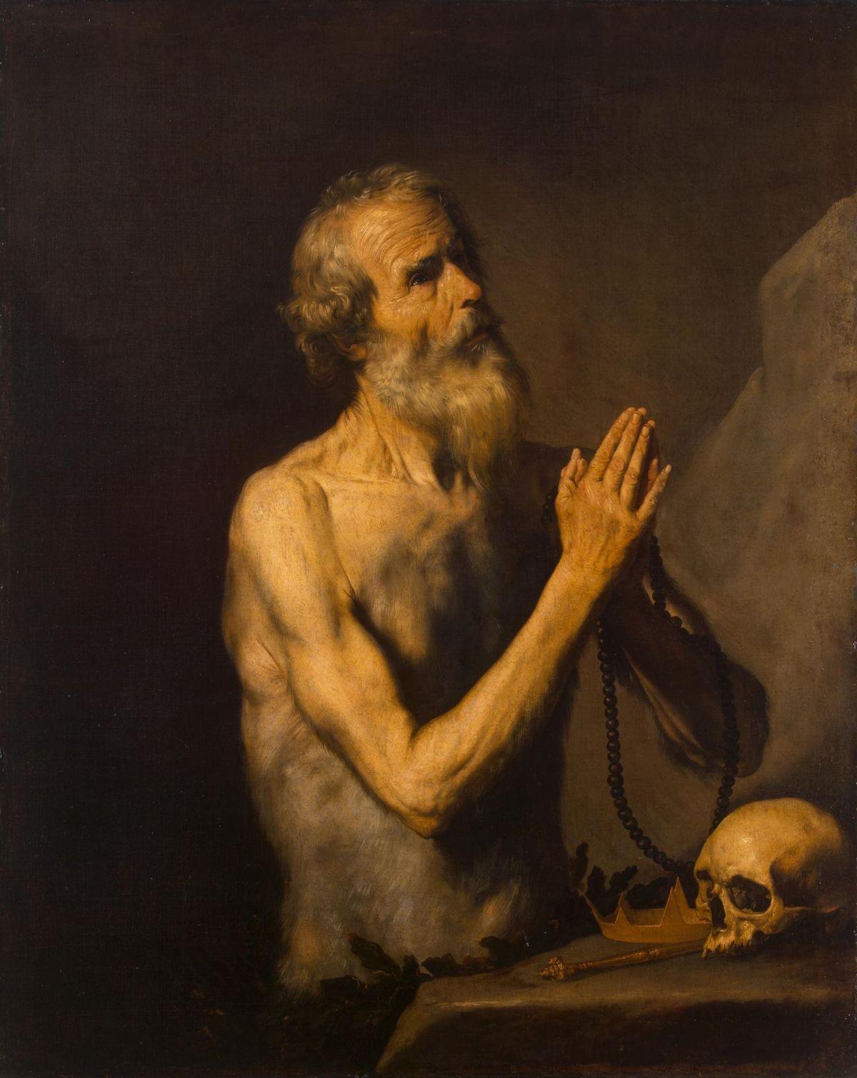 St Onuphrius by Jusepe de Ribera