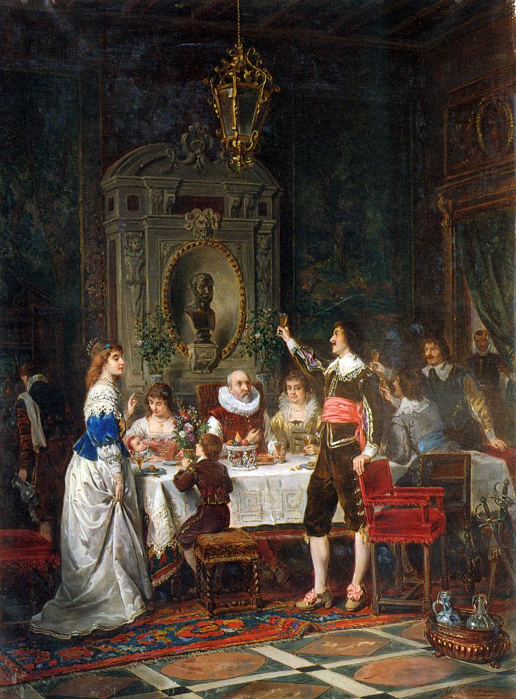 The Toast by Herman Maurice Cossmann