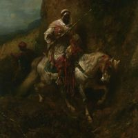 The Warrier by Adolf Schreyer